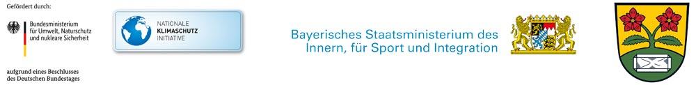 Umbau Flutlichtanlage der DJK SG Schönbrunn gefördert durch die Bundesrepublik Deutschland, Bayerischen Landessportverband im Auftrag des Bayerischen Staatsministerium des Inneren, für Sport und Integration und die Gemeinde Hohenau